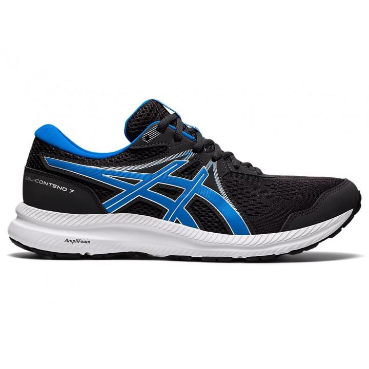 Кроссовки для бега Asics Gel-Contend 7 (GRAPHITE GREY/DIRECTOIRE BLUE)