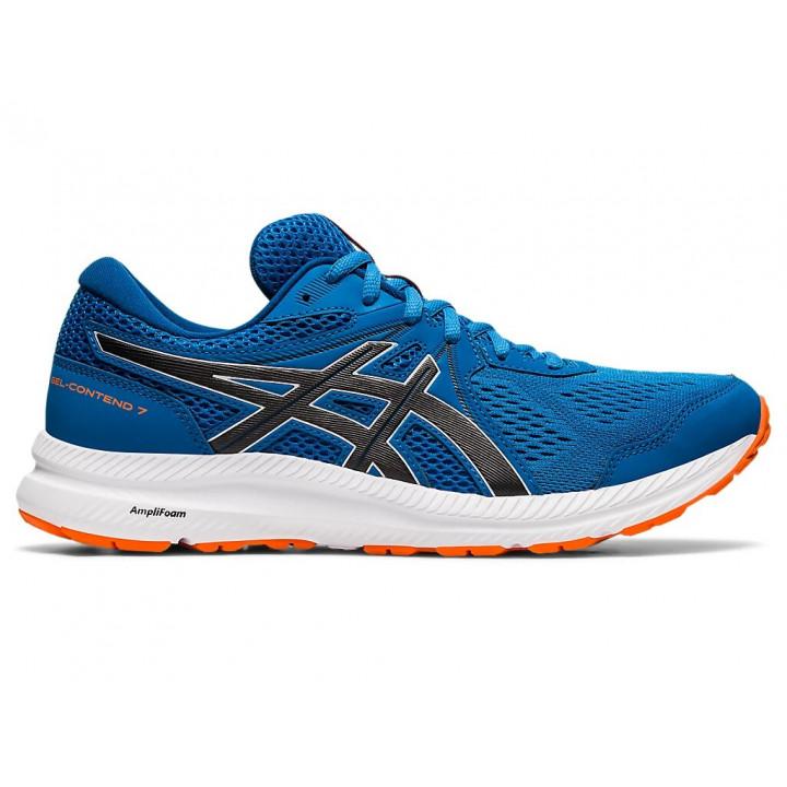 Кроссовки для бега Asics Gel-Contend 7 (RBEORN BLUE/BLACK)