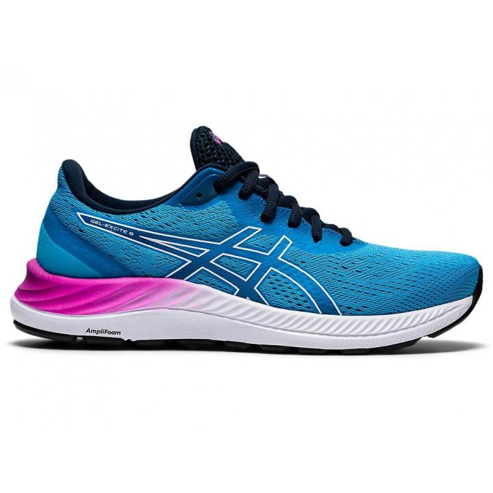 Женские кроссовки для бега Asics Gel-Excite 8 (DIGITAL AQUA/WHITE)