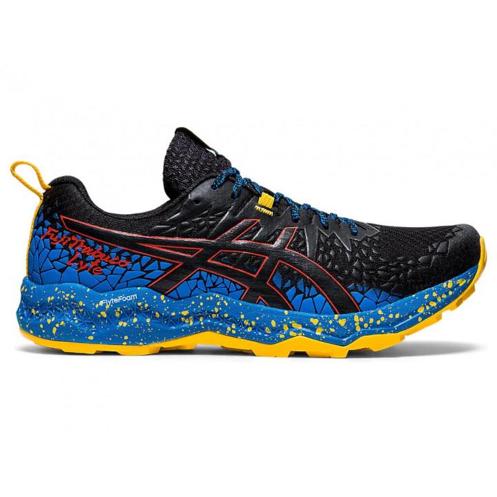 Кроссовки для бега Asics FujiTrabuco Lyte (BLACK/DIRECTOIRE BLUE)