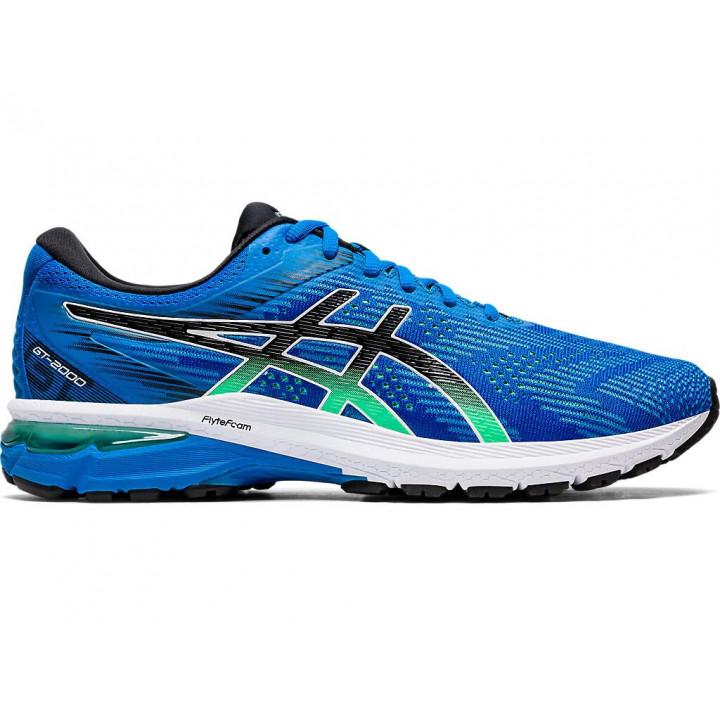 Кроссовки для бега Asics Gt-2000 8 (ELECTRIC BLUE/BLACK)