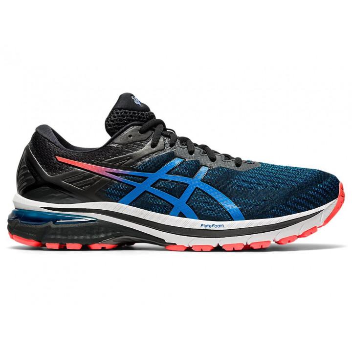 Кроссовки для бега Asics Gt-2000 9 (BLACK/DIRECTOIRE BLUE)