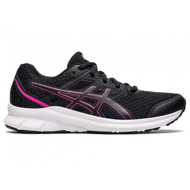 Женские кроссовки для бега Asics JOLT 3 (BLACK/HOT PINK)