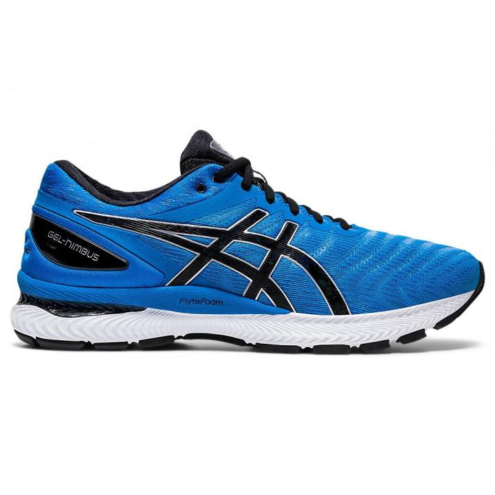 Кроссовки для бега Asics GEL-NIMBUS 22 (DIRECTOIRE BLUE/BLACK)