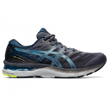 Asics GEL-NIMBUS 23 (CARRIER GREY/DIGITAL AQUA)