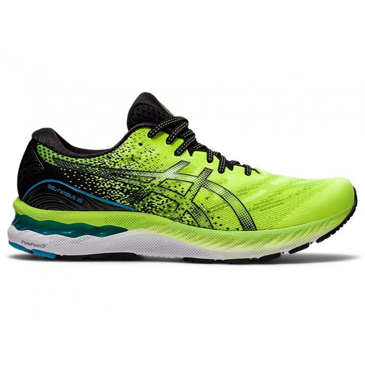 Кроссовки для бега Asics GEL-NIMBUS 23 (Hazard Green/Black)