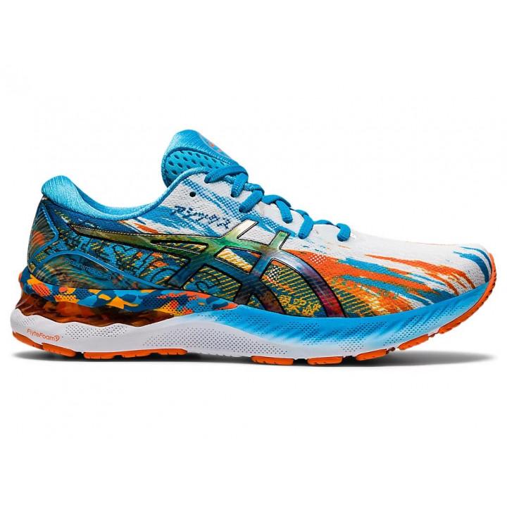 Кроссовки для бега Asics GEL-NIMBUS 23 (Digital Aqua/Marigold Orange)
