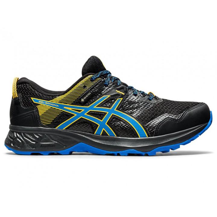 Кроссовки для бега Asics Gel Sonoma 5 G-TX (BLACK/DIRECTOIRE BLUE)