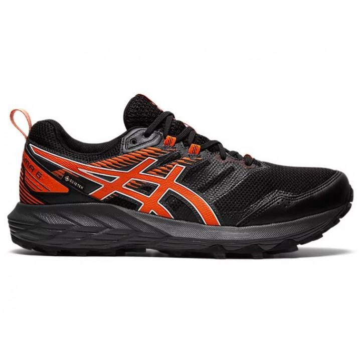 Кроссовки для бега Asics Gel-Sonoma 6 G-TX (BLACK/MARIGOLD ORANGE)