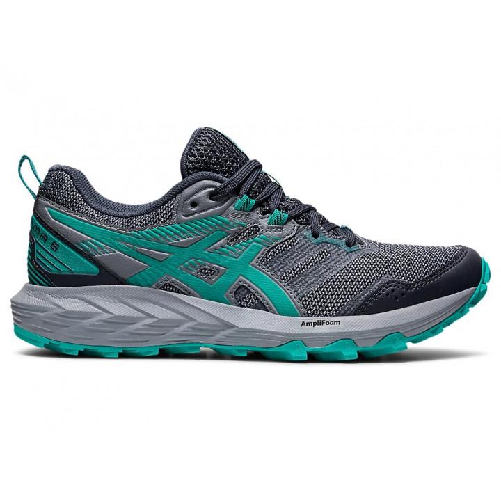 Женские кроссовки для бега Asics Gel-Sonoma 6 (CARRIER GREY/BALTIC JEWEL)