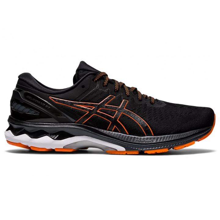 Кроссовки для бега Asics GEL-KAYANO 27 (BLACK/MARIGOLD ORANGE)