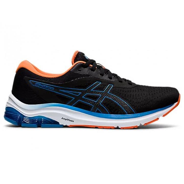 Кроссовки для бега Asics Gel-Pulse 12 (BLACK/REBORN BLUE)