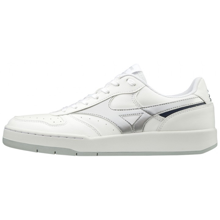 Повседневные кроссовки Mizuno City Wind (White/Silver)