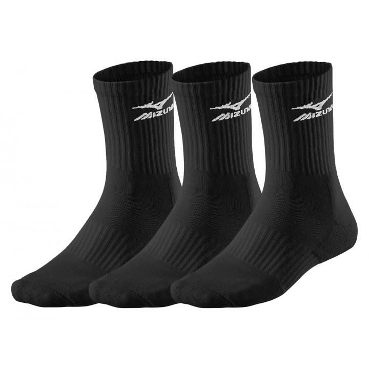 Тренировочные носки Mizuno Training (Black) 3 пары в упаковке