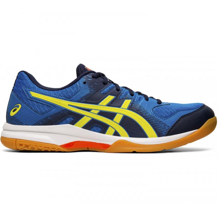 Волейбольные кроссовки Asics Gel-Rocket 9 (Blue/Yellow)