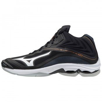 Mizuno Wave Lightning Z6 Mid (BLACK/WHITE/EBONY)