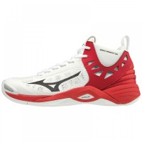 Mizuno Wave Momentum MID (White/Red)