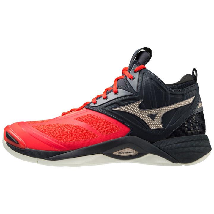 Волейбольные кроссовки Mizuno Wave Momentum 2 Mid (V1GA2117-63)