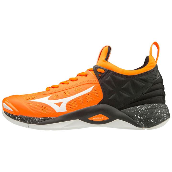 Волейбольные кроссовки Mizuno Wave Momentum (Orange)