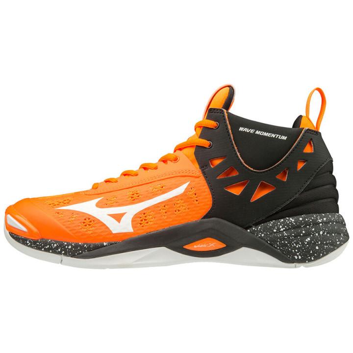 Волейбольные кроссовки Mizuno Wave Momentum MID (Orange)