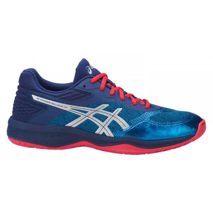 Волейбольные кроссовки Asics Netburner Ballistic Ff (Race Blue/Silver)