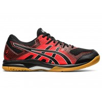 Asics Gel-Rocket 9 (BLACK/FIERY RED)