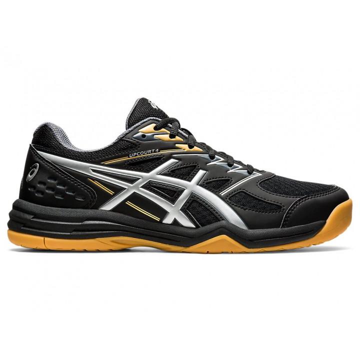 Волейбольные кроссовки Asics UPCOURT 4 (BLACK/PURE SILVER)