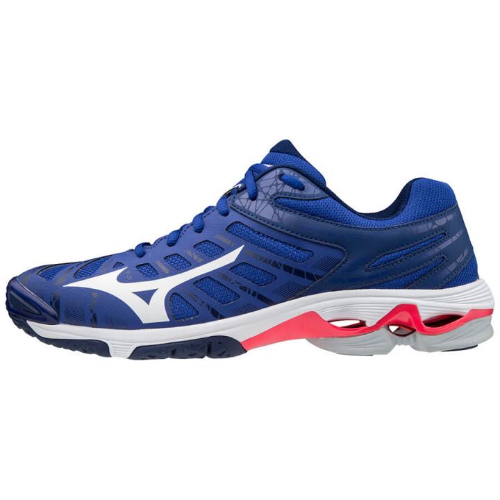 Волейбольные кроссовки Mizuno Wave Voltage (REFLEXBLUEC/WHT/DIVAPINK)