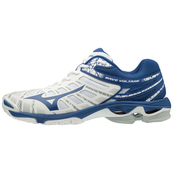 Волейбольные кроссовки Mizuno Wave Voltage (White/Blue)
